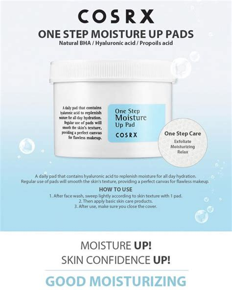 Cosrx One Step Moisture Up Pad 70 Pads cosrx one step moisture up pad 70 pads beureka