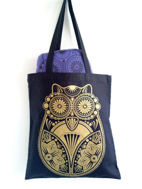 Totebag Owl Murah 68 best images about siebdruck on coffee table