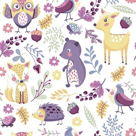Tapisserie Chambre Enfant by Sticker Tapisserie Chambre Enfant Les Animaux Du Parc
