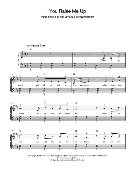 you raise me up violin cover violin sheet music