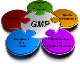 Gmp certificate a good manufacturing practice gmp is a production and