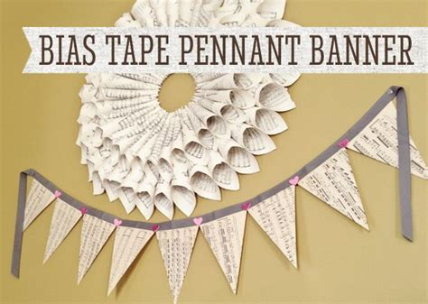 How To Make A Paper Pennant Banner - pennant banner diy paper crafts