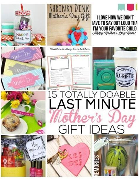 handmade mother s day card gift ideas 2015 15 more totally doable last minute mother s day gift ideas