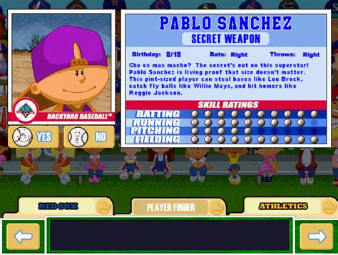 Backyard Baseball Pablo by Pablo Inks Multi Million Dollar Deal With New York