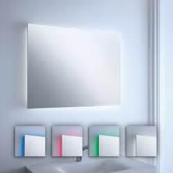 miroir lumineux led color 233 s salle de bain horizontal ou