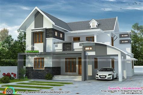 kerala home design books house plan by colorville architects kerala home design