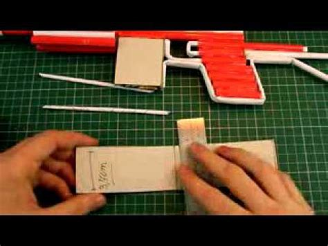 cara membuat pistol mainan dari kardus cara membuat pistol dari kertas bets idea youtube