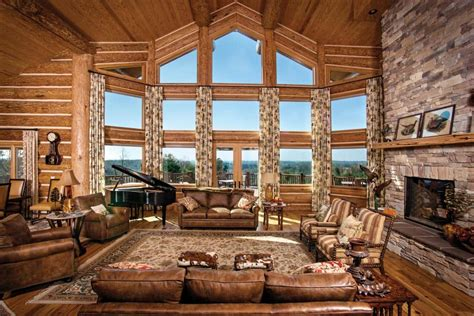 great room photo gallery log homes timber homes
