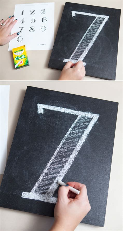 diy chalkboard table numbers diy chalkboard table number pictures something turquoise