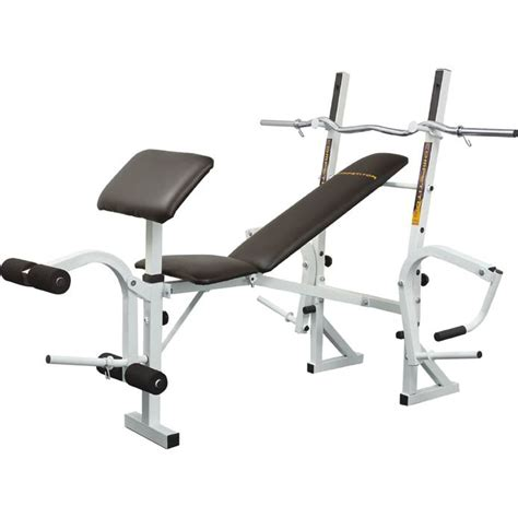 weight bench with bar marcy training weight bench and curl bar sweatband com