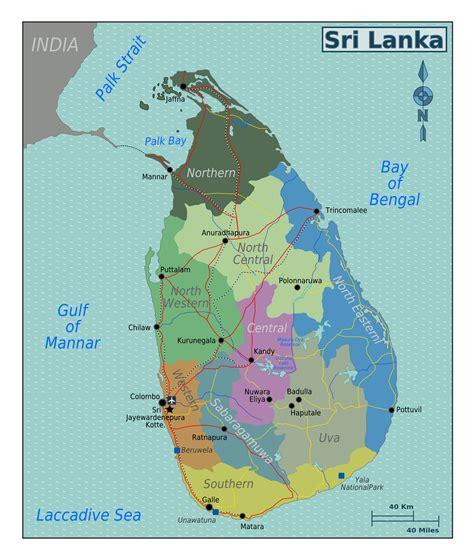 earth map sri lanka large regions map of sri lanka sri lanka asia