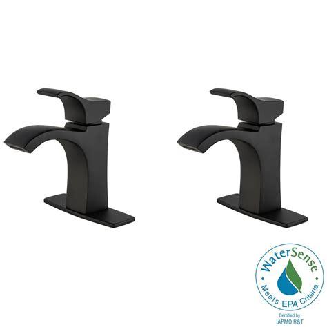 Single Hole Faucets Bathroom Pfister Venturi 4 In Single Hole Single Handle Bathroom