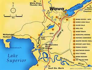wawa canada map atving utving in wawa ontario and thereabouts eh