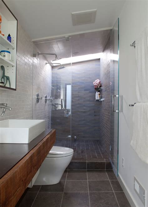 small narrow bathroom ideas small bathrooms big ideas eye on design by dan gregory