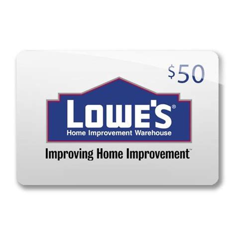 Lowes E Gift Card - lowe s gift cards gifts pinterest
