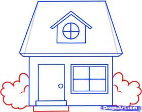 draw houses how to draw a house for kids step by step buildings