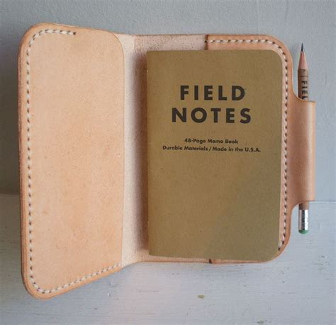 leather field notes cover leather notebook cover for field notes