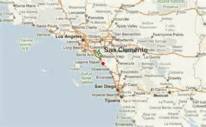 san clemente map california san clemente location guide