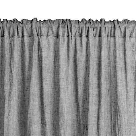 gordijnen met haakjes ikea gordijn hirsholm 1x135x245 grijs jysk