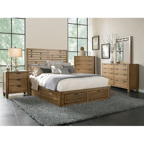 broyhill bedroom furniture sets broyhill ember grove storage bed 5 pc bedroom set in