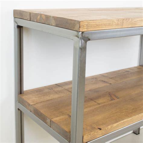 muebles de madera y hierro mueble auxiliar de hierro y madera auxiliar muebles