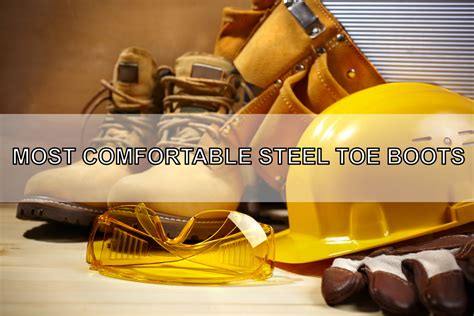 most comfortable composite toe shoes the 5 most comfortable steel toe boots in the market