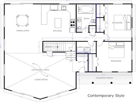 make your own blueprint design your own floor plan modern house
