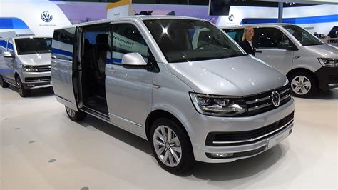 volkswagen 2017 interior 2017 volkswagen multivan exterior and interior iaa