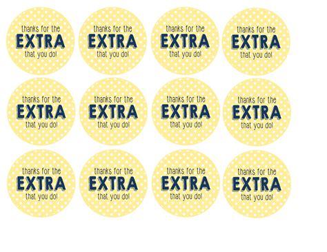extra gum printable gift tags teacher appreciation week free teacher appreciation gift