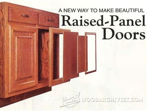 how to make raised panel cabinet doors how to make raised panel cabinet doors with a router how