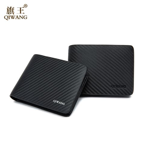 pattern for mens leather wallet qiwang leather men wallet carbon pattern luxury leather