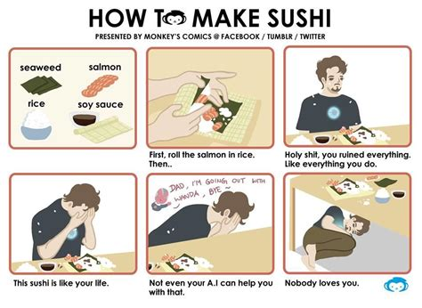 How To Write Memes - iron man version how to make sushi know your meme