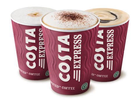 Cappuccino Cups costa express irresistible coffee on the go costa coffee