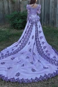 Medieval Wedding Dresses Vintage Medieval Wedding Dress Lotr Renaissance Fantasy Gown Lavender Fairy Gown Ebay