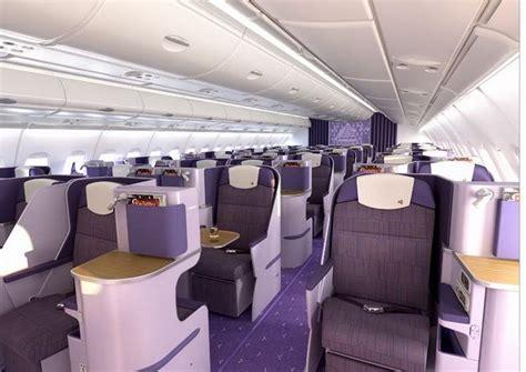Thai Cabin by 6 Thai Airways A380 Royal Silk Business Class Cabin