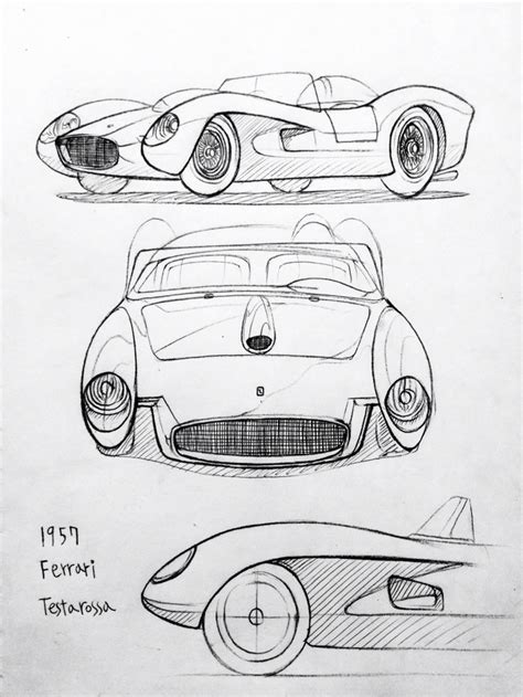 car ferrari drawing 47 best images about daily car drawing on pinterest mk1