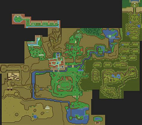 legend of zelda oot map legend of zelda ocarina of time 16 bit map a link to the