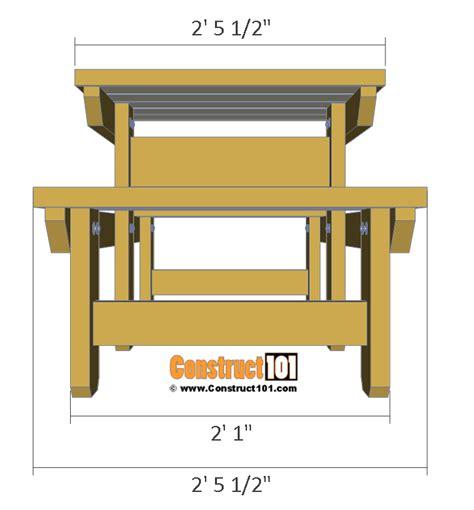 8 person picnic table plans two person picnic table plans free pdf