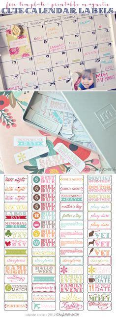 printable calendar labels calendar templates on pinterest blank calendar calendar