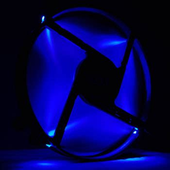 Nzxt Fs 200rb 20cm Fan Led Blue nzxt fs 200rb bled 11 blade rifle bearing blue led 200mm