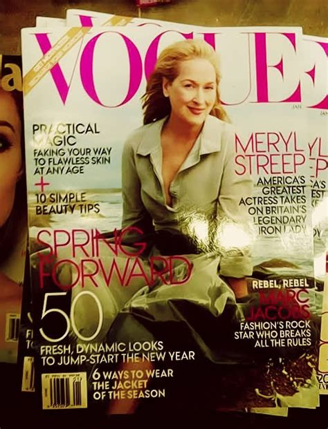 The Meryl Streep Covers Vogue by Vogue Meryl Streep On Cover Smokey Cats Magazine
