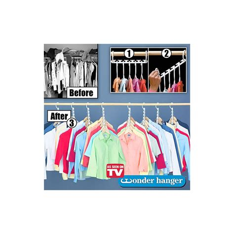 As Seen On Tv Closet Hangers by Hanger Space Saving Hanger 8 Pack As Seen On Tv