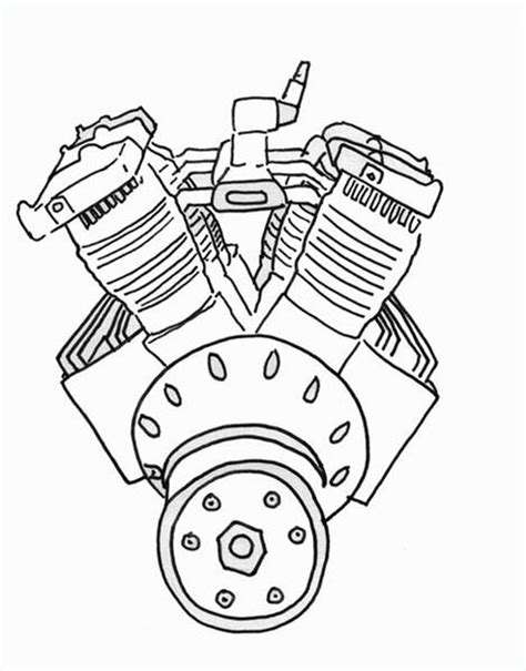 How to Draw a Car Engine | eHow