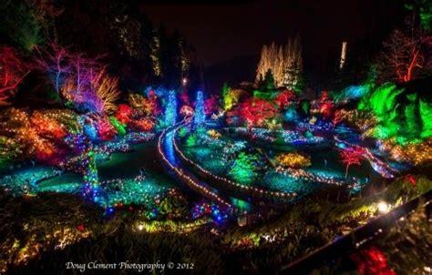 butchart gardens holiday lights butchart gardens christmas lights victoria b c places