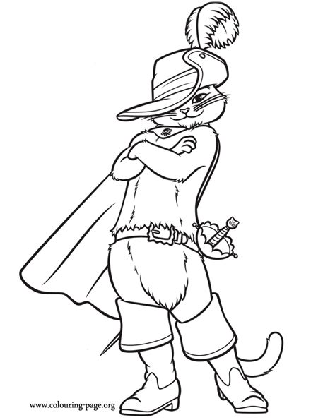 Puss In Boots Coloring Pages puss in boots puss in boots coloring page