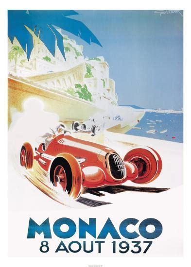 1325268909 art automobile a monaco 9th grand prix automobile monaco 1937 art print by geo