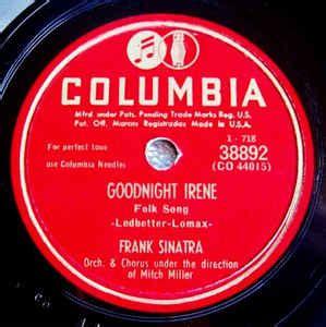 frank sinatra my blue heaven vinyl frank sinatra goodnight irene my blue heaven shellac