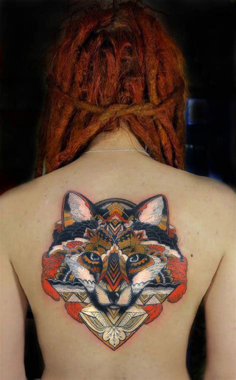 womens  fox tattoo tattoomagz tattoo designs