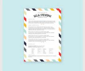 Creative Template creative resume template 81 free sles exles