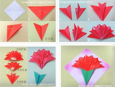 How To Make Origami Flower Bouquet Step By Step - made